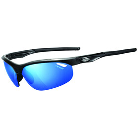 Tifosi Veloce Glasses gloss black - clarion blue/AC red/clear